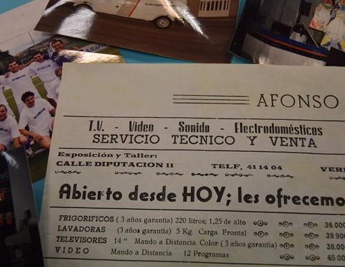 La historia de Electrodomésticos Afonso